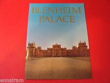 Blenheim Palace History / Guide 1978 Duke of Marlborough Estate