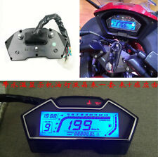 ALL IN ONE Function Motorcycle Speedometer Odometer Tachometer Fuel Level show