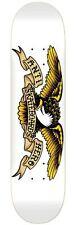 Anti Hero Classic Eagle White Skateboard/Skate Deck8.75 FREE SHIP & GRIP