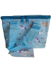 Unicorn Insulated LunchBag  /Coolbag 21 cm for school, work, picnics or gift.