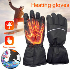 Winter Touch screen Electric Thermal Warm Heated Gloves Motorcycle Bike Hunting