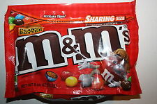 NEW SEALED PEANUT BUTTER M&M'S MILK CHOCOLATE CANDIES SHARING SIZE 9.60 OZ BAG