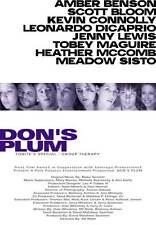 DON'S PLUM Movie POSTER 27x40 Amber Benson Scott Bloom Kevin Connolly Leonardo