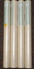 Faux Texture Wallpaper Gold Gray Cream #52671 (Lot of 4 Double Rolls)