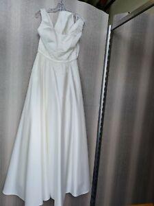 💜Hochwertiges Brautkleid Amelie Pailletten Perlen Gr. 44 NEU m. Etikett 💜