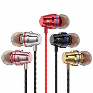 SUPER BASS IN-EAR EARPHONES HANDSFREE HEADPHONE FOR IPHONE IPAD IPOD SAMSUNG+MI