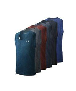 Brand New Under Armour Men UA Tech Tank Sleeveless Shirt Top S M L XL 2XL 3XL **