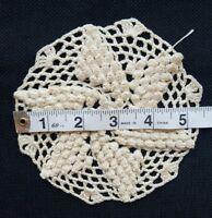 """A15 5.25"""" Vintage Crochet Lace Flower Doily Doilies Coaster Home Primitive Decor"""
