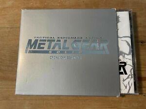 METAL GEAR SOLID (KCE Japan Sound Team) OOP '99 Videogame Score Soundtrack CD EX