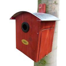 Vogelhaus-Nistkasten aus Holz,mit Metalldach Nr.2