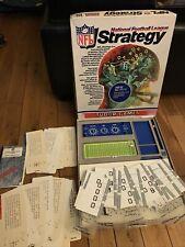 NFL Strategy - National Football League 1978 Tudor Games Board Game *READ*