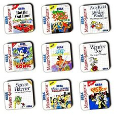 Master System Games - Box Art - Coasters - Wooden - Retro Gifts - 4 For 3 Offer