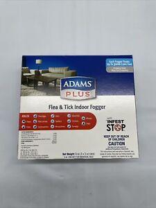 ***Adams Plus Flea & Tick Indoor Fogger 3pack 3oz cans***