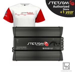 Stetsom Vulcan 5000 1 Ohm Digital Amplifier Car Audio vulcan5000 3 Day Delivery