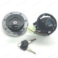 Ignition Switch Fuel Gas Cap For kawasaki ZX6R 2000-2002 ZX9R 94-2003 ZX7R/ZX7RR