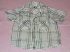 Pumpkin Patch Lovely Boys Checked Shirt, Size 3-6 Months