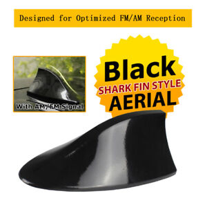 Replacement Vortex Stereo Cover Shark Fin Antenna Roof Top Signal Aerial Black