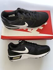 Nike Nightgazer UK 7.5 EUR 42 100% Genuine Black Noir Trainers Sneakers BNIB