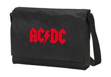ACDC AC DC AC/DC Laptop Bag Tasche Umhängetasche, edel bestickt