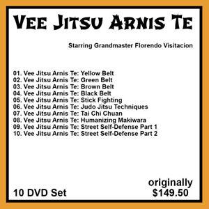 Vee Jitsu Arnis Te with Professor Vee and Frank Gallante (10 DVD Set)