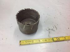 """Milwaukee 49-57-3250 3-1/4"""" Diameter Threaded Steel Hawg 2"""" Deep LITELY USED"""