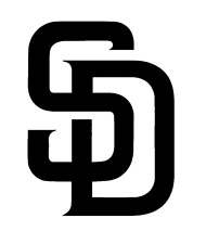 Decal Vinyl Truck Car Sticker - MLB Baseball San Diego Padres
