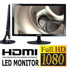SAMSUNG 24 ZOLL FULL HD LED TFT PC MONITOR BILDSCHIRM HDMI COMPUTER SCHWARZ NEU