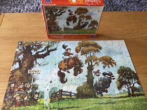 1973 WHITMAN NORMAN THELWELL 224 LARGE PC JIGSAW RARE