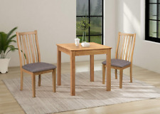 Small Square Dining Table | Solid Wooden Kitchen Dinner