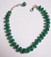 Handmade Green Sterling Silver Fine Bracelets