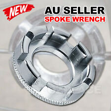Bicycle Bike Spoke Wrench Steel Adjuster Repair Tool Wheel Spanner Vehicle Ring
