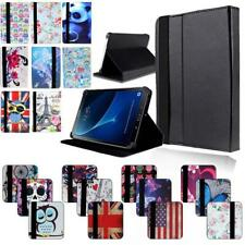 "FOLIO LEATHER STAND Cover CASE For 7"" 8"" 10"" Samsung Galaxy Tab 2 3 4 + Stylus"