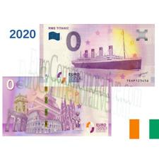 Billet Touristique Euro Souvenir '' RMS Titanic '' 2020