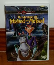 LAS AVENTURAS DE ICHABOD Y MR.TOAD CLASICO DISNEY Nº 11 DVD NUEVO DESCATALOGADO