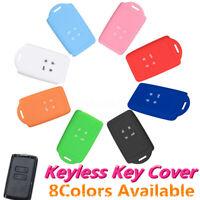 4Button Silicone Remote Key Fob Cover Case Shell For Renault koleos Kadjar 16-17
