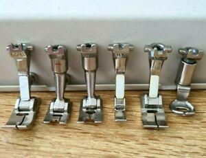 Bernina Sewing Machine Feet/Foot Old Style Metal Body Machines
