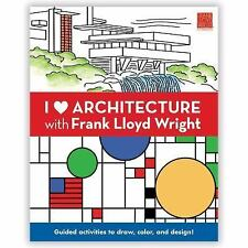 I Heart Architecture with Frank Lloyd Wright Mudpuppy Paperback