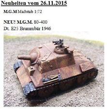 MGM 080-400 1/72 Resin WWII+ German E25 Brummbär 1946