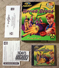 NERF Arena Blast Atari Gamespy Visionary Media Hasbro Doom PC Big Box Game RARE