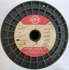 Kanthal A 0,70mm 3,69 Ω/m, Original Widerstandsdraht Heizdraht, 3-10 Meter
