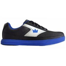 Brunswick Renegade Black/Blue Mens Bowling Shoes