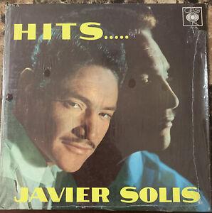 JAVIER SOLIS CON MARIACHI -HITS..- MEXICAN LP RANCHERO
