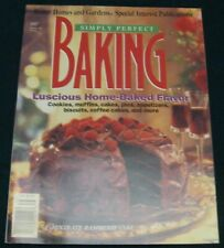 PERFECT BAKING BETTER HOMES & GARDENS SPECIAL INTEREST COOKBOOK MAGAZINE 1997