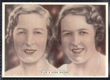 ARDATH-FILM STAGE & RADIO STARS (X25 LARGE CARD)-#22- ELSIE & DORIS WATERS