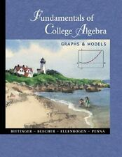 Fundamentals of College Algebra: Graphs & Models, , Very Good Book