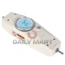 New NK-10N 1KG Analog Push Pull Gauge Dial Mechanical Force Gauge Meter Tester