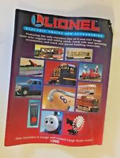 Vintage 1995 Lionel Trains Catalog Toy Electric Accessories S Gauge Large Scale