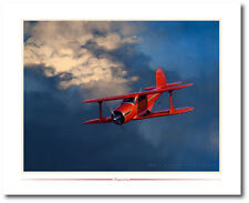 Staggerwing by Jack Fellows - Beechcraft Staggerwing - Aviation Art Prints