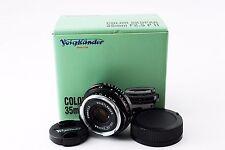 【Excellent++】Voigtlander COLOR SKOPAR 35mm F2.5 PII for Leica M with Box 186010
