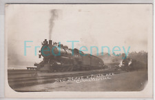 RPPC - Connellsville, PA - Locomotive at Railroad Depot - early 1900s